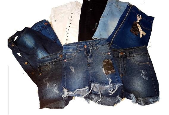 Lote De 20 Prendas Discontinuas , Short Y Mini Falda