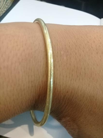 Pulseira Feminina Veneziana Berloque 18cm 7,9g Ouro 18k