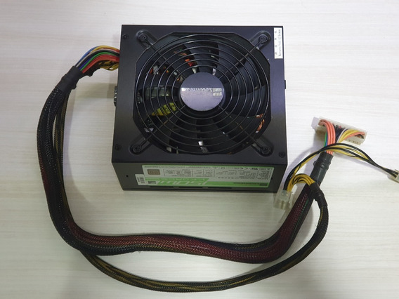 Fonte Atx Seventeam V-force 750w Semi Modular Gamer