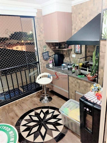 Imagem 1 de 30 de Apartamento Com 3 Dormitórios À Venda, 98 M² Por R$ 780.000,00 - Tatuapé - São Paulo/sp - Ap2493