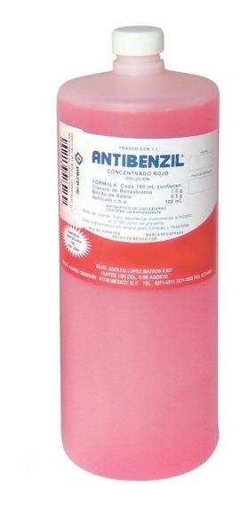 Jabón Quirúrgico Antibenzil Rojo 1 Lt