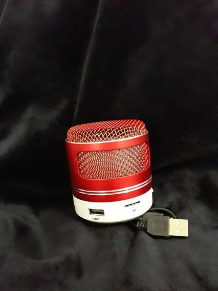 Caixa De Som Portátil Por Bluetooth