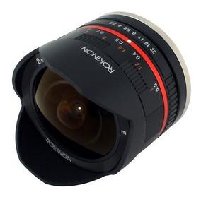 Lente Rokinon 8mm F / 2.8 Umc Fisheye Ii Sony E-mount