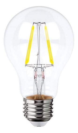 Foco Led Filamentos A19 8w Luz Blanca Ajustable 115595 Aksi