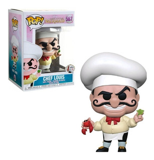 Figura Funko Pop 567 Chef Louis - Mermaid Oferta!