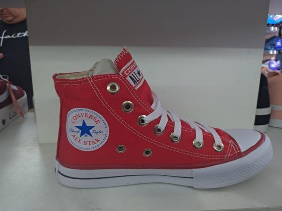 Tênis Feminino Cano Alto All Star Converse
