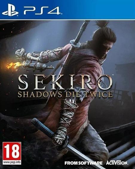 Sekiro Shadows Die Twice Ps4 Midia Fisica Novo Lacrado
