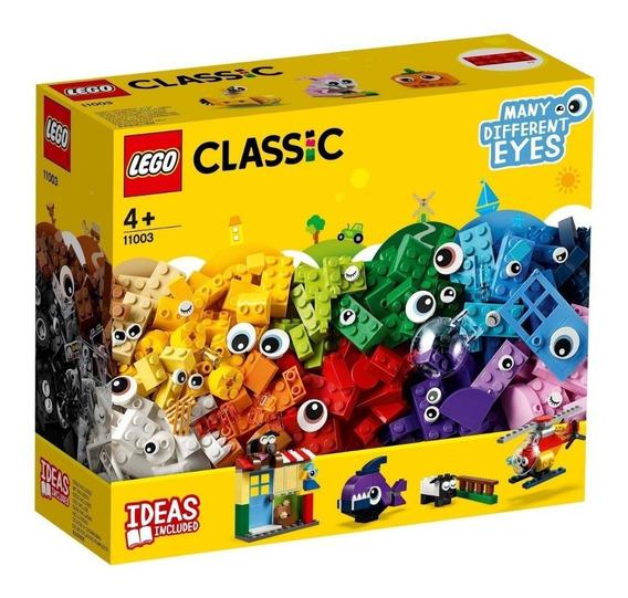Blocos De Montar Lego Classic Pecas E Olhos 451 Peças 11003