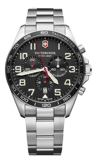 Relógio Suiço Victorinox Fieldforce Chrono - Novo Original