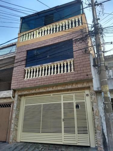 Imagem 1 de 15 de Sobrado Para Venda Por R$605.000,00 Com 220m², 4 Dormitórios, 2 Vagas E 2 Banheiros - Jardim São Nicolau, São Paulo / Sp - Bdi28019