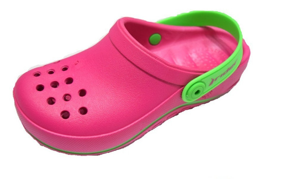 Ojotas Sandalia Rider Babuch Kids Rosa -sagat Deportes- Croc