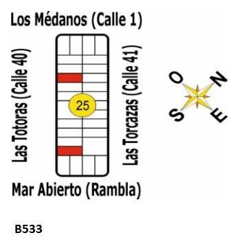 B533 - Solares En Uruguay - La Esmeralda - Dpto De Rocha