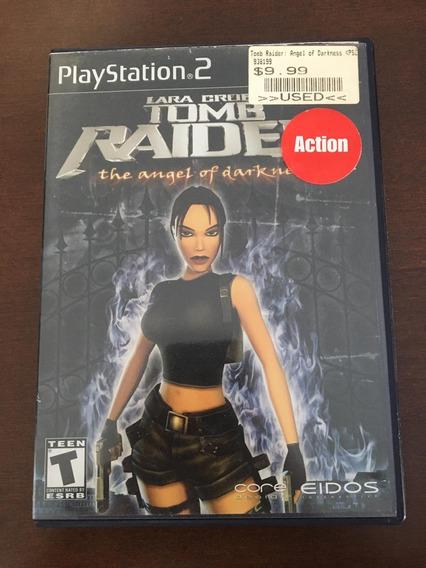 Tomb Raider The Angel Of Darkness Mídia Física Ps2