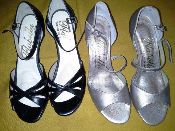 Zapatos De Tango Numero 38 Impecables