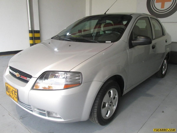 Chevrolet Aveo Ls Mt 1600 Aa 16v