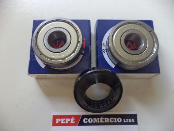 Rolamento + Retentor Roda Diant Cg Titan Fan 125/150 Todas