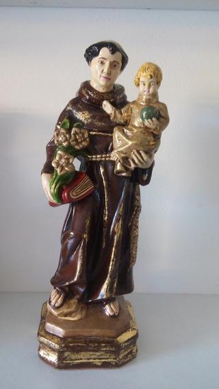 Santo Antônio Barroco Em Gesso