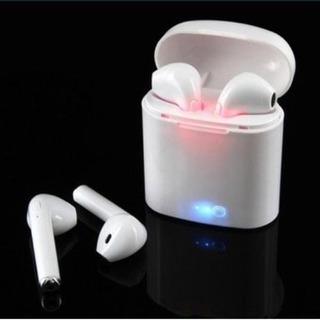 Audifonos Dobles Bluetooth I9 Blancos Manos Libres