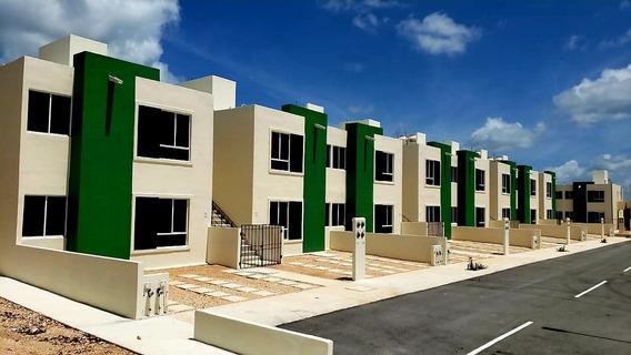 Casa 2 Recámaras Con Estacionamiento En Cancún