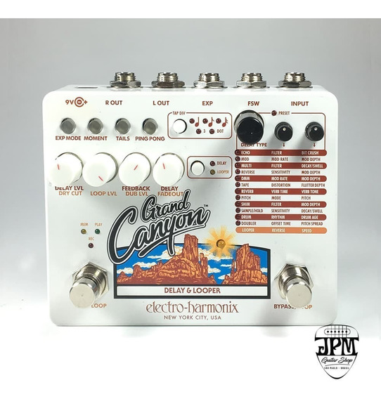 Pedal Delay & Looper Grand Canyon Ehx Com Nf E Garantia