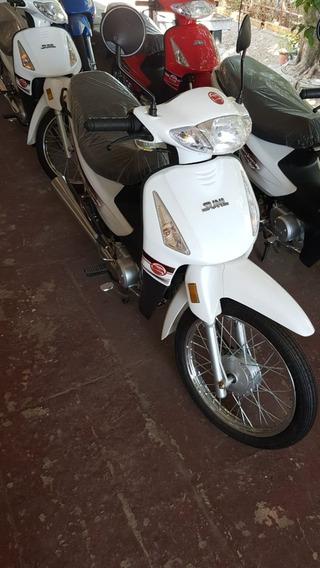 Motoneta Sunl. Semiautomatica, 110cc 2019