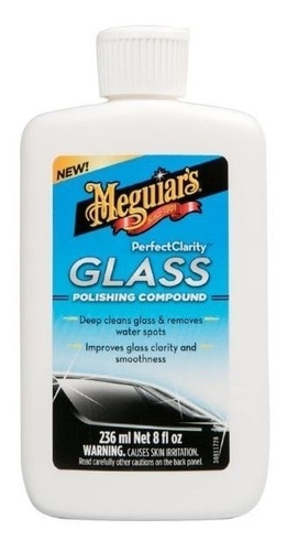 Meguiars Pulidor Perfect Clarity Glass Compound Highgloss R