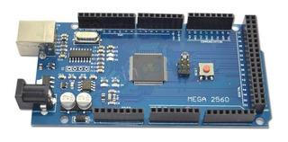 Arduino Mega 2560 R3, Ch340g Con Cable Usb Y Cd