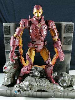 Marvel Legends Iron Man Serie 8 Toy Biz Avengers