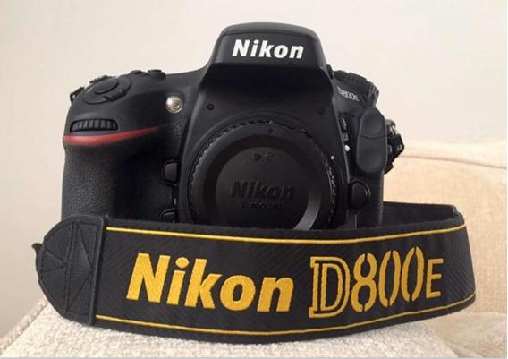 Nikon D800e Só 12.850 Cliques + 2 Livros (+ De 800 Págs)