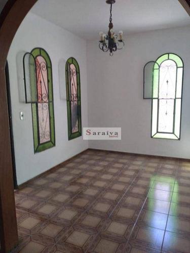 Imagem 1 de 23 de Sobrado Residencial/comercial Com 4 Dormitórios Para Alugar, 150 M² Por R$ 3.410/mês - Jardim Hollywood - São Bernardo Do Campo/sp - So1186