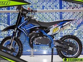 Moto A Gasolina Para Niños 50cc