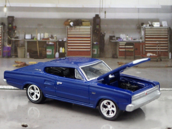 1966 Dodge Charger Johnny Lightning 1/64