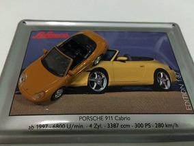 Schuco 1:87 - Porsche 911 Cabrio Laranja