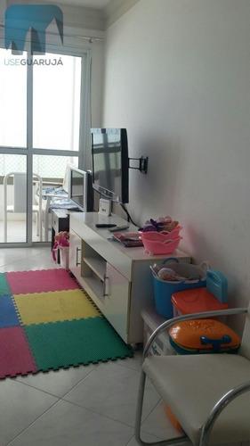 Apartamento A Venda No Bairro Centro Em Guarujá - Sp.  - 403-1
