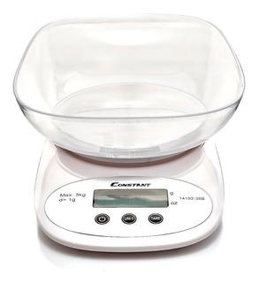 Gramera Bascula Digital Para Cocina 5kg 1g Gramera Constant