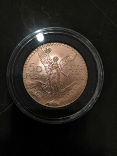 Centenario 50 Pesos 41.6 G 22k Moneda De Oro