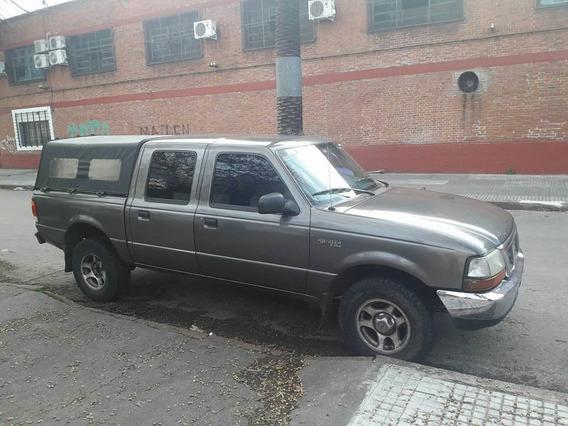 Ford Ranger Año 2000 Xlt 4x4 Diesel Doble Cabina