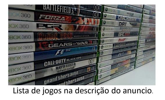 Jogos De Xbox 360 Midia Fisica Lote Com 2 A 6 Jogos