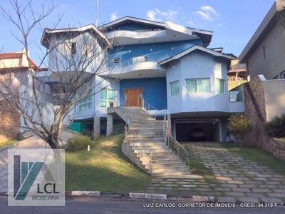 Casa Com 6 Dormitórios À Venda, 680 M² Por R$ 3.500.000 - Parque Das Artes - Embu Das Artes/sp - Ca0010