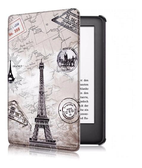 Capa Kindle Case 10ª Geração Com Fecho Magnético - Paris