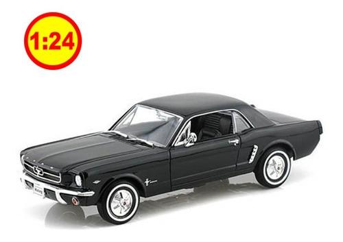 Automodelismo Ford Mustang Hard Top 1964 Black 1/24 Sku: 177
