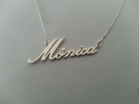 Colar De Nome Em Prata 925 Personalizado !!promoção !!