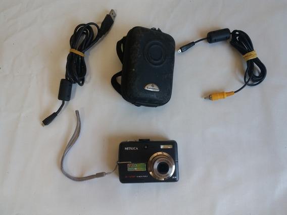 Câmera Digital Mitsuca Modelo Dc7325br 7 Megapixels Novinha
