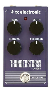 Pedal Efecto Guitarra Tc Electronic Thunderstorm Flanger
