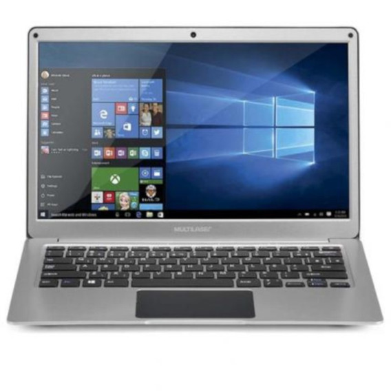 Notebook 13.3 Pol. 4gb/64gb/celeron/windows - Prata - Pc222