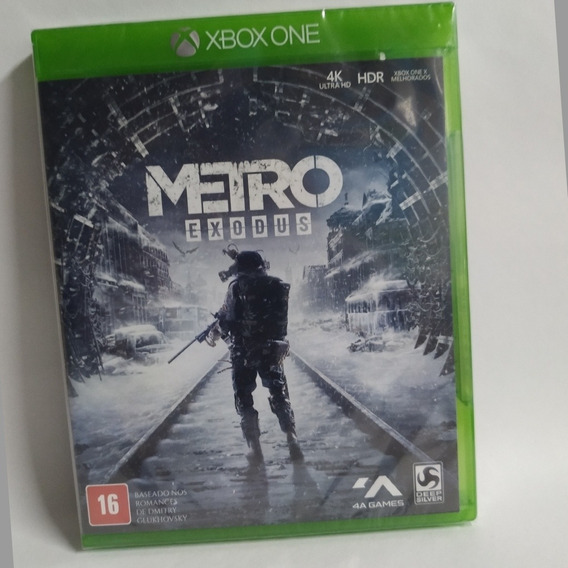 Jogo Metro Exodus -xbox One -portugues -mídia Fisica-lacrado