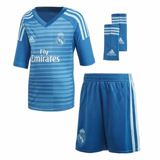 Camisa Real Madri Courtois Infantil 18/19 - Pronta Entrega