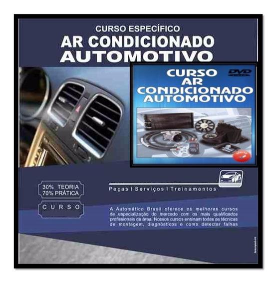Curso 10 Dvds Ar Condicionado Automotivo + Brindes A17