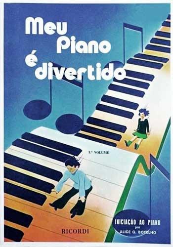 Livro Meu Piano É Divertido - Vol. 1 - Alice Botelho C/nf