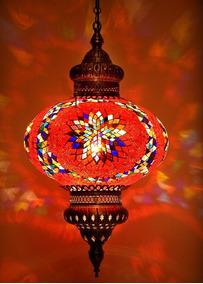 Lustre De Mosaico Turco Hm_032t_1